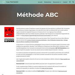 Yves TRAYNARD - Méthode ABC