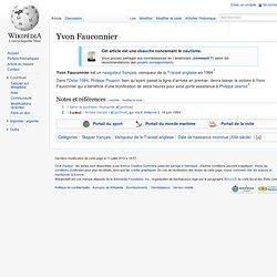 Yvon Fauconnier