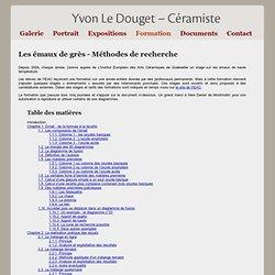 Yvon LE DOUGET - Céramiste