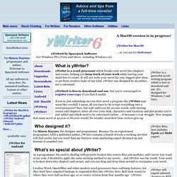 yWriter6 by Spacejock Software