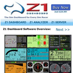 Z1 Dashboard : Overview