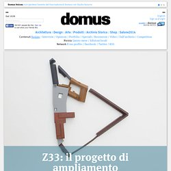 Z33: il progetto di ampliamento