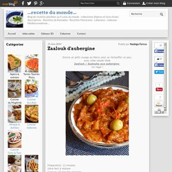Zaalouk d'aubergine - ...recette du monde...