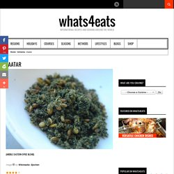 Zaatar Recipe (Middle Eastern spice blend)