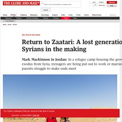 Return to Zaatari: A lost generation of Syrians in the making​