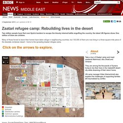 Zaatari refugee camp: Rebuilding lives in the desert