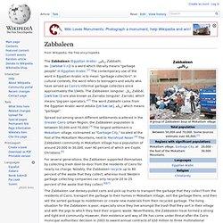 Zabbaleen