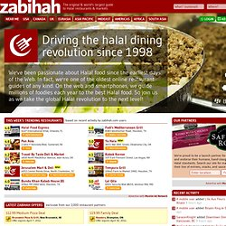 zabihah.com - your guide to halal eating