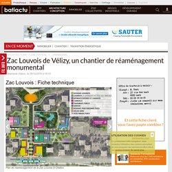 Zac Louvois: Fiche technique - 09/12/16