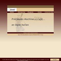 workshop machines à café à levier