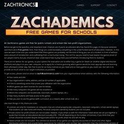 Zachademics