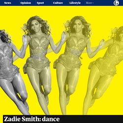 Zadie Smith: dance lessons for writers