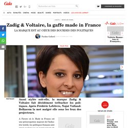 Zadig & Voltaire, la gaffe made in France