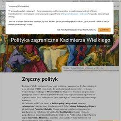 Polityka zagraniczna Kazimierza Wielkiego