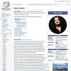 Zaha Hadid - Wikipédia - Waterfox