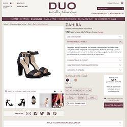 Zahira Noir Sandales Pour Femme