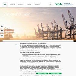 Zahlen und Daten - VDA