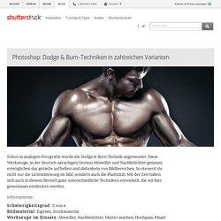 Photoshop: Dodge & Burn-Techniken in zahlreichen Varianten - Shutterstock Blog Deutsch