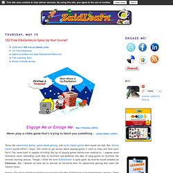 ZaidLearn: 102 Free EduGames to Spice Up Your Course!