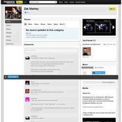 Zak Starkey sur Myspace