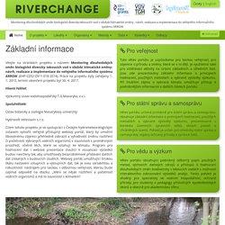 Základní informace - RIVERCHANGE