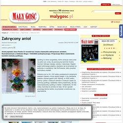 Zakręcony anioł - malygosc.pl
