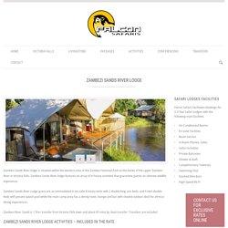 Zambezi Sands River Lodge - Victoria Falls Safari Lodges