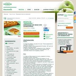 Receta Empanada de maiz con zamburiñas por Thermomix® - Receta de la categoria Masas y repostería Receta Empanada de maiz con zamburiñas por Thermomix® - Receta de la categoria Masas y repostería