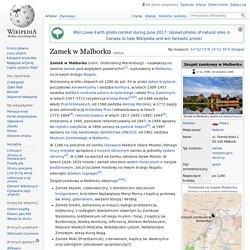 Zamek w Malborku-