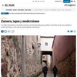 Zamora, tapas y modernismo