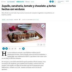 Zapallo, zanahoria, tomate y chocolate: 4 tortas hechas con verduras - 01.09.2016 - LA NACION