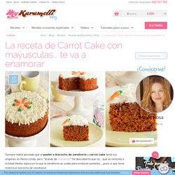 ▷ Bizcocho de Zanahoria o Carrot Cake □ - Receta Irresistible □