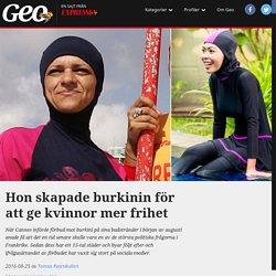 Aheda Zanetti skapade burkinin för att ge kvinnor mer frihet