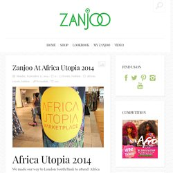 Zanjoo At Africa Utopia 2014