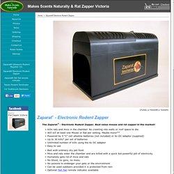 Zaparat - Electronic Rodent Zapper. Mouse & Rat Zapper