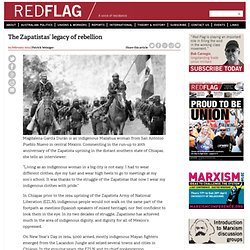 The Zapatistas' legacy of rebellion