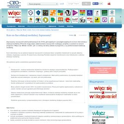 Kurs on-line edukacji medialnej. Zapraszamy!