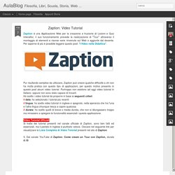 Zaption: Video Tutorial