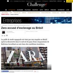 Zara accusé d'esclavage au Brésil - 18 août 2011