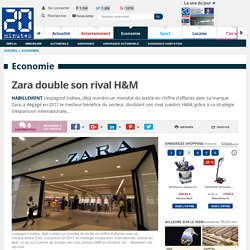 Zara double son rival H&M