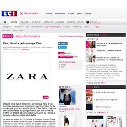 Zara, histoire de la marque Zara - Mode