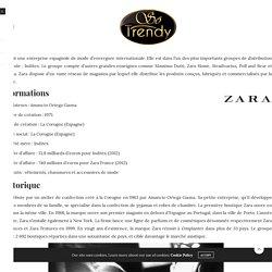 Zara, toutes les informations sur la marque