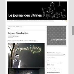 Zara — Le Journal des Vitrines