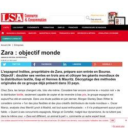 Zara : objectif monde