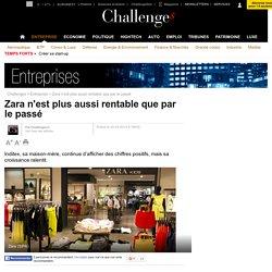 Zara n'est plus aussi rentable que par le passé - 20 mars 2014