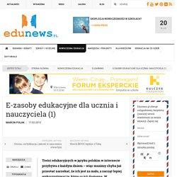 E-zasoby edukacyjne dla ucznia i nauczyciela (1)