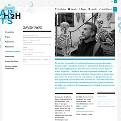 Zaven Paré - LABEX Arts-H2H