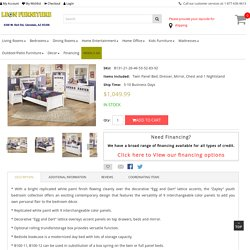 Zayley White 5pc Bedroom Collection