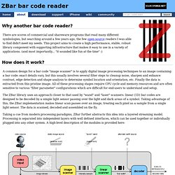 ZBar bar code reader - About