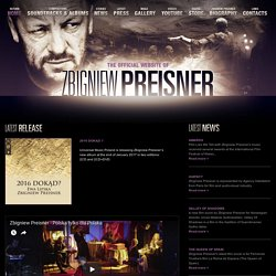 ZBIGNIEW PREISNER | The official website